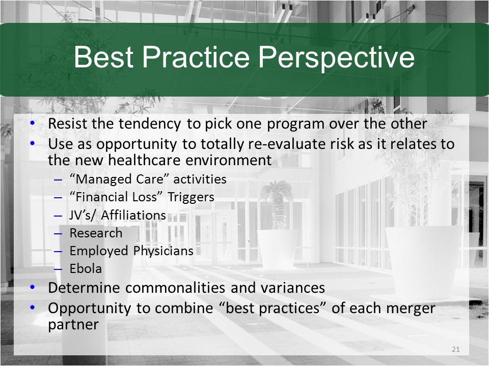 Best Practice Perspective