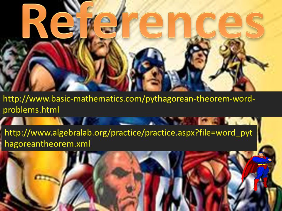 References http://www.basic-mathematics.com/pythagorean-theorem-word-problems.html.