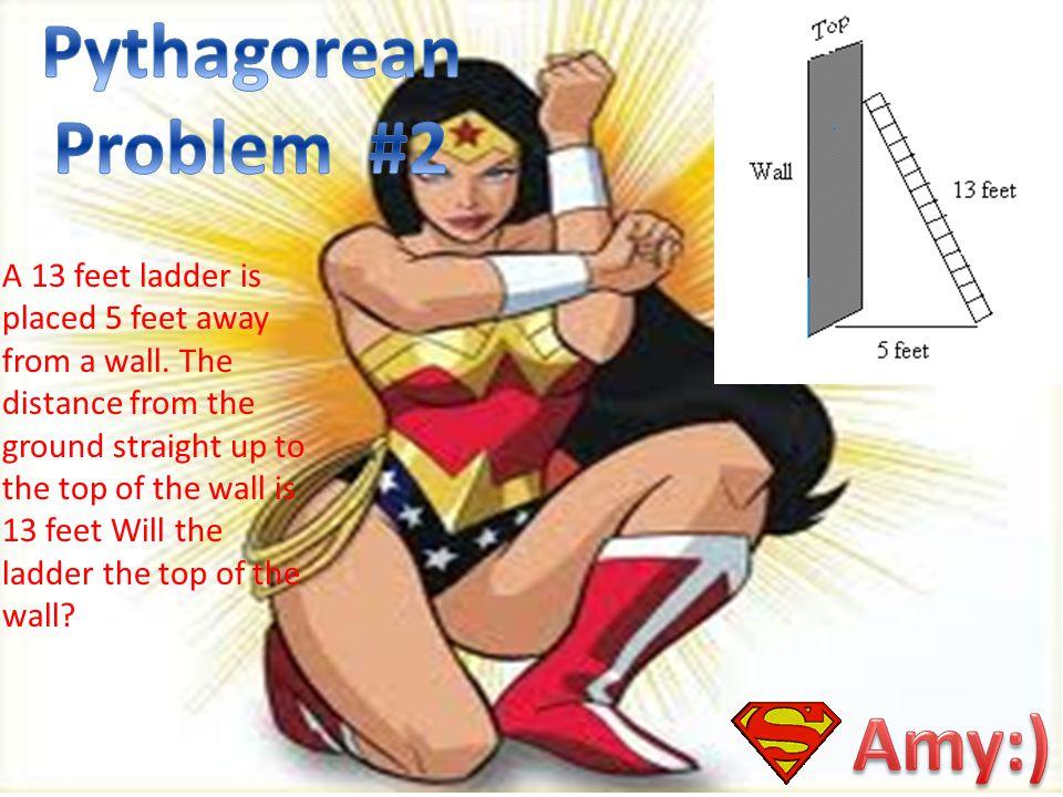 Pythagorean Problem #2 Amy:)