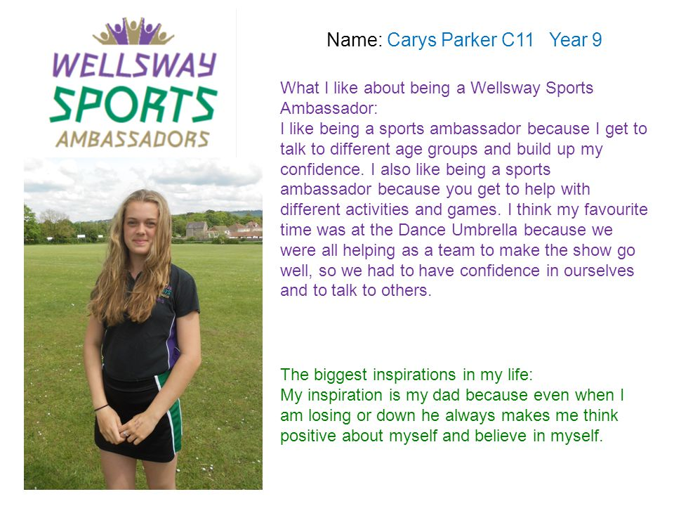 Name: Carys Parker C11 Year 9