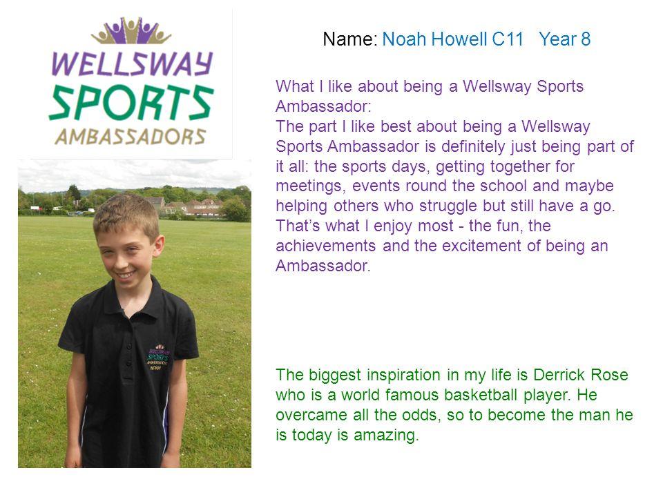 Name: Noah Howell C11 Year 8