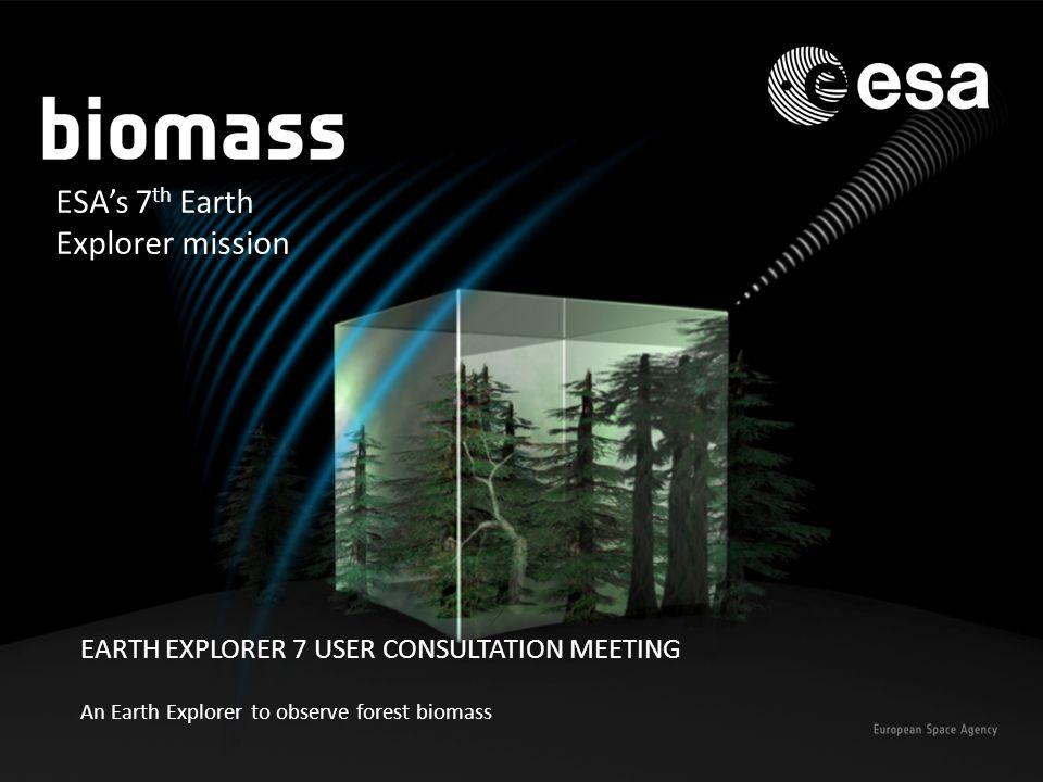 ESA's 7th Earth Explorer mission