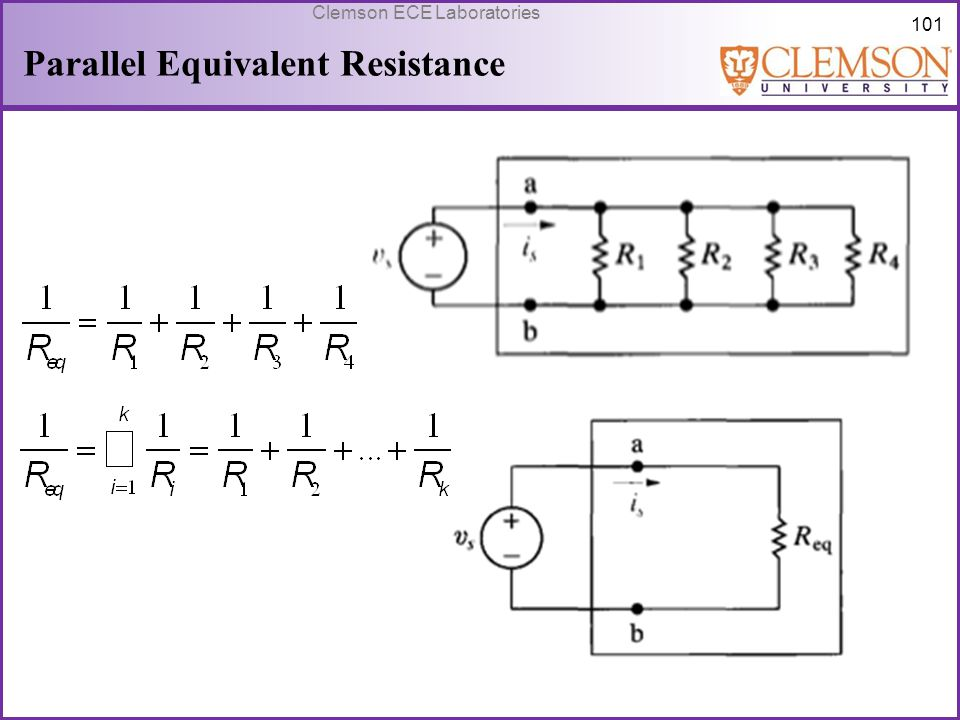 Parallel Equivalent Resistance