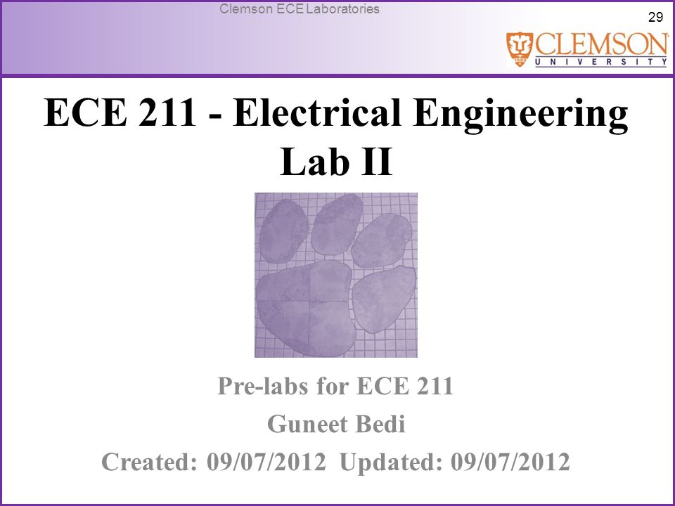 ECE 211 - Electrical Engineering Lab II