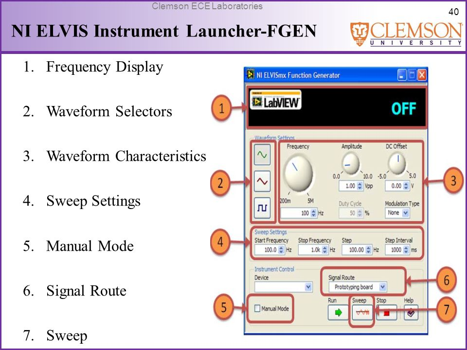 NI ELVIS Instrument Launcher-FGEN