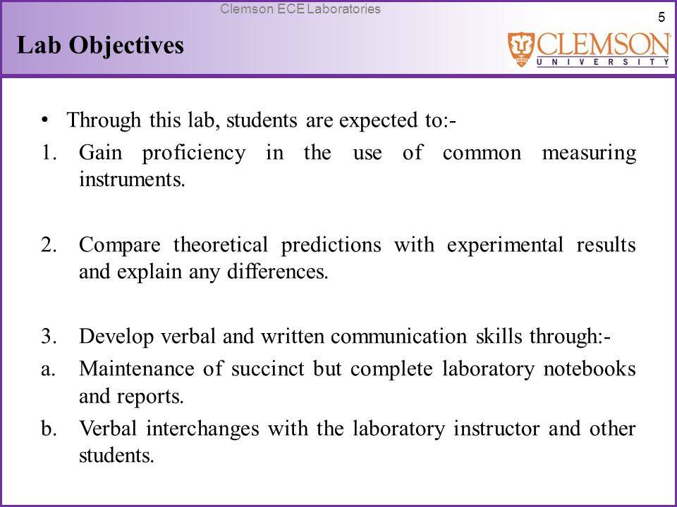 Lab Objectives Through this lab, students are expected to:-