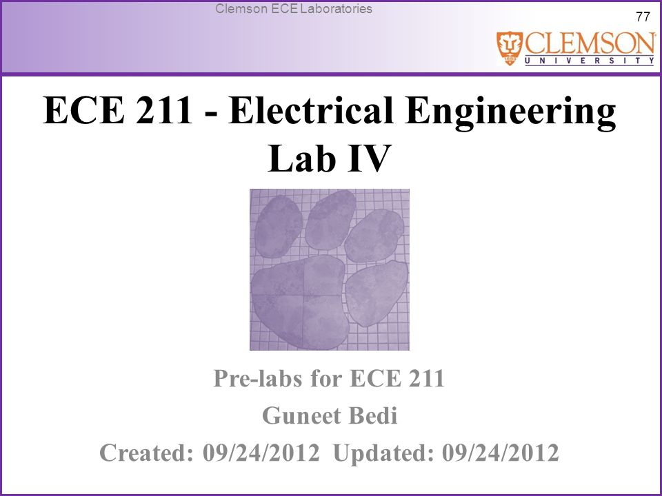 ECE 211 - Electrical Engineering Lab IV