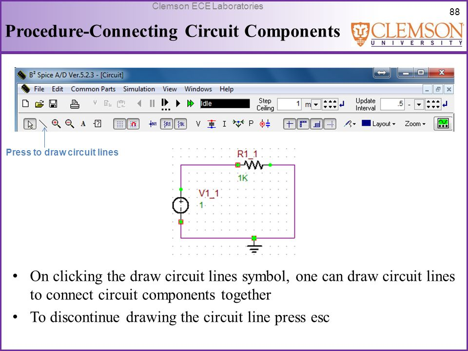 Procedure-Connecting Circuit Components