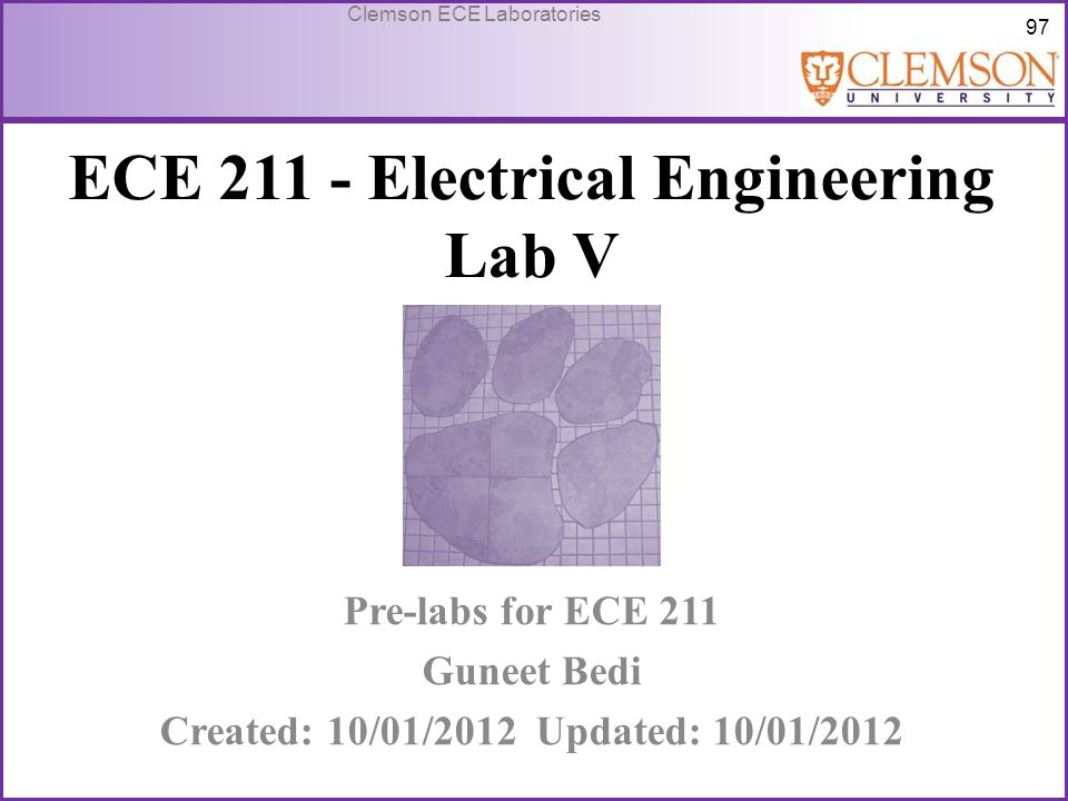 ECE 211 - Electrical Engineering Lab V