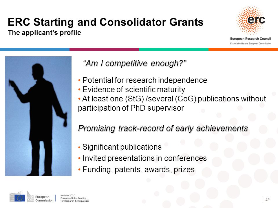 ERC Starting and Consolidator Grants