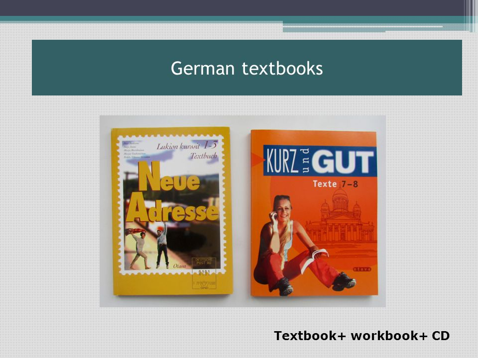 Textbook+ workbook+ CD