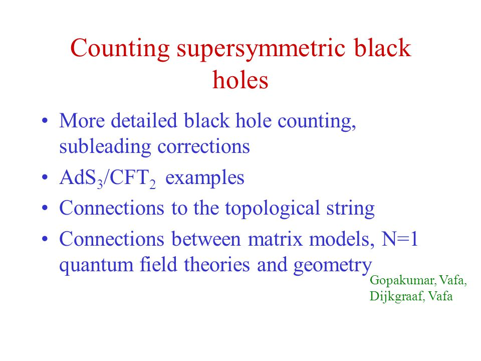 Counting supersymmetric black holes