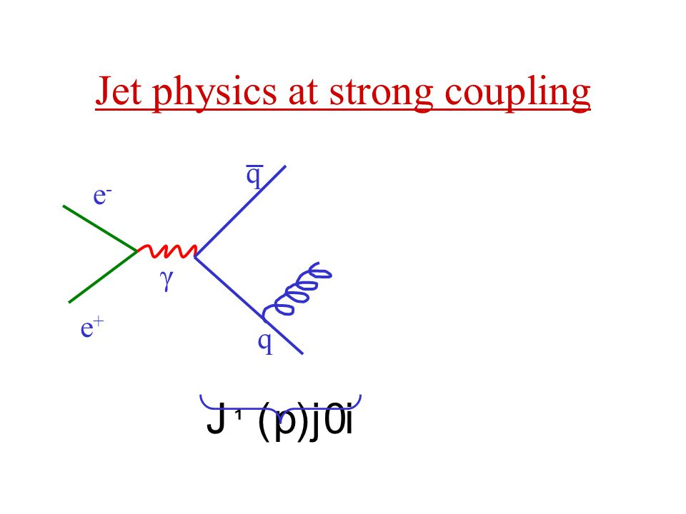Jet physics at strong coupling
