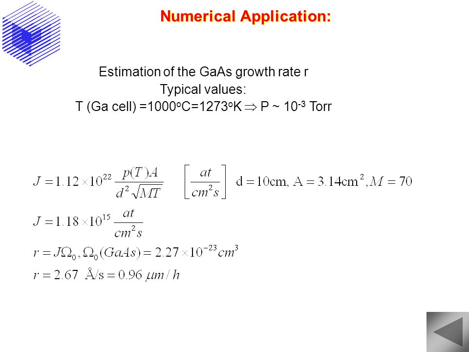 Numerical Application: