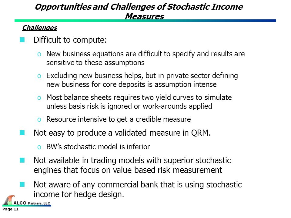 Opportunities and Challenges of Stochastic Income Measures