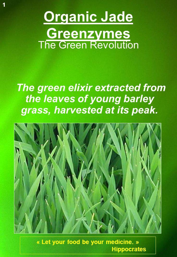 Organic Jade Greenzymes