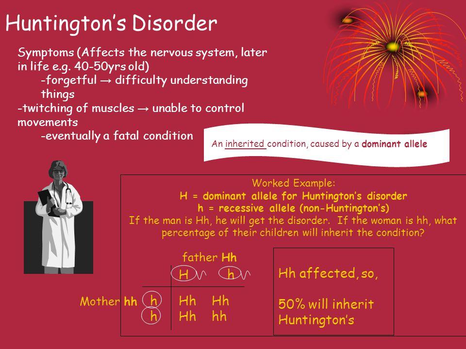 Huntington's Disorder