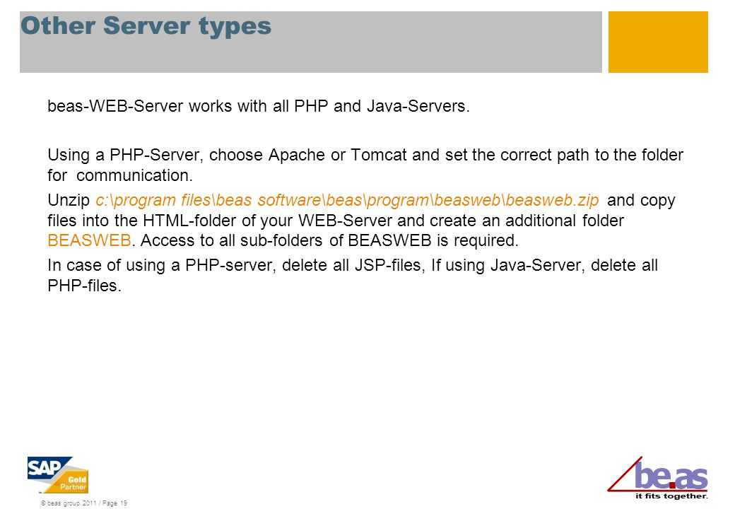 Other Server types