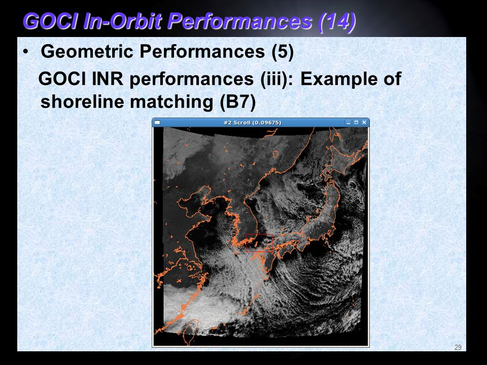 GOCI In-Orbit Performances (14)