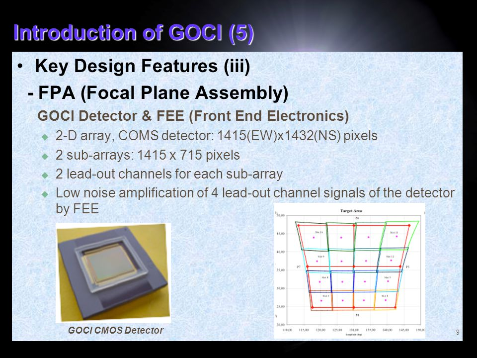 Introduction of GOCI (5)