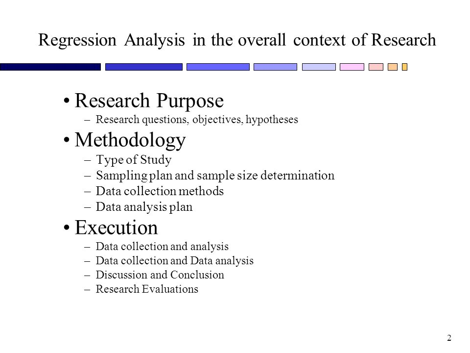 simple regression analysis Linear regression is the most basic and commonly used predictive analysis regression estimates are used to describe data and to explain the relationship.