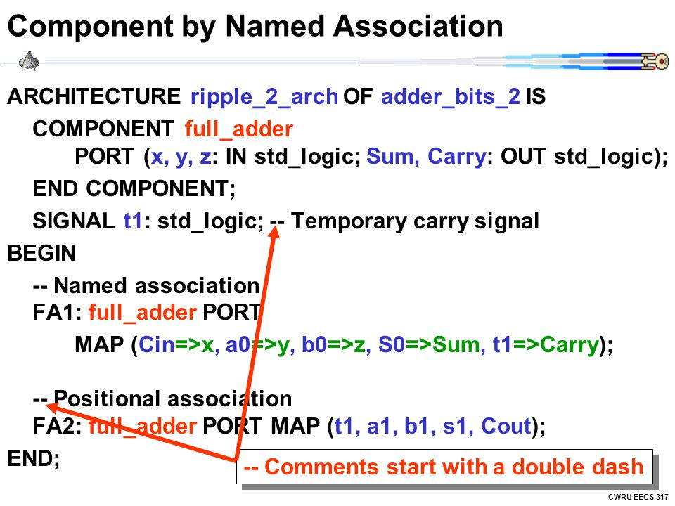 Component by Named Association