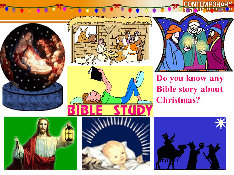 Do you know any Bible story about Christmas