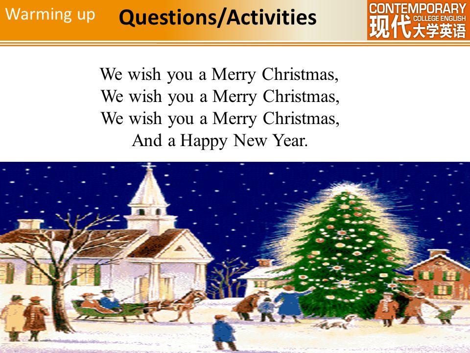Questions/Activities