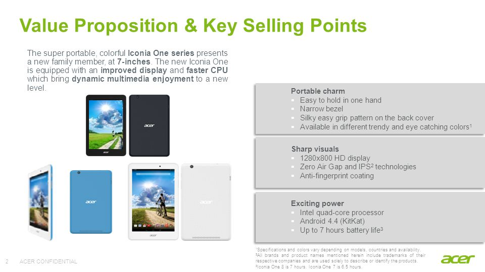 Key Selling Points | Detailed