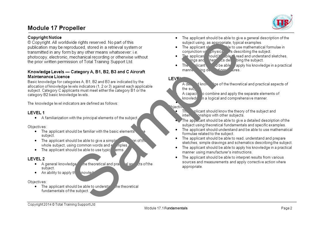 Sample Module 17 Propeller Copyright Notice