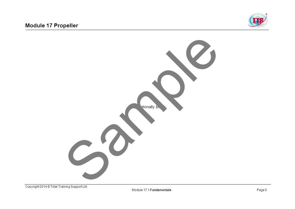 Sample Module 17 Propeller Intentionally Blank