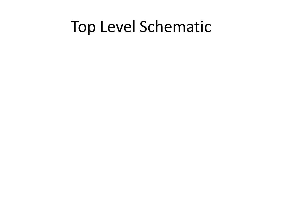 Top Level Schematic
