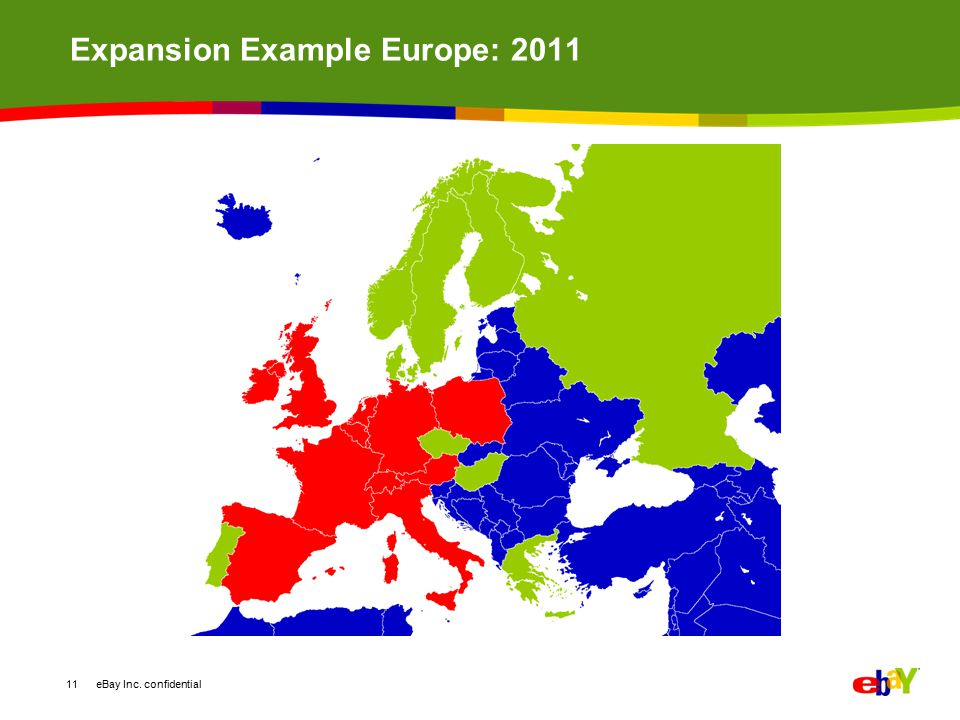 Expansion Example Europe: 2011