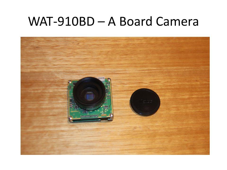 WAT-910BD – A Board Camera