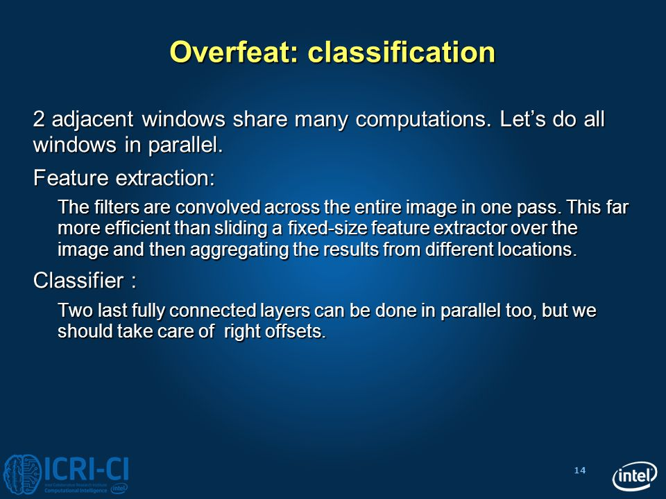 Overfeat: classification