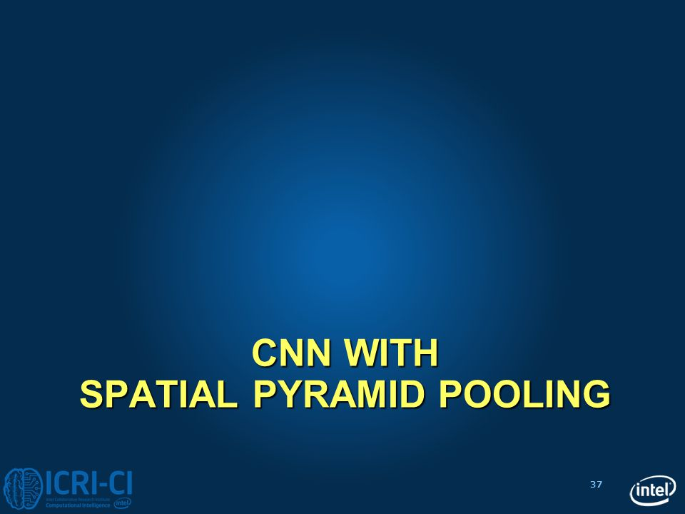 CNN with Spatial Pyramid pooling