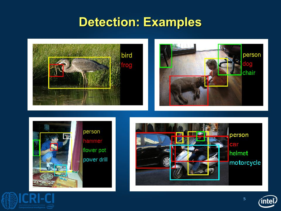 Detection: Examples