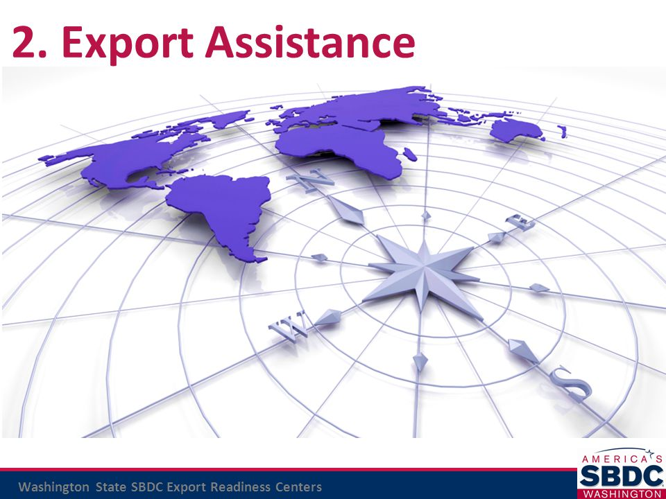 2. Export Assistance