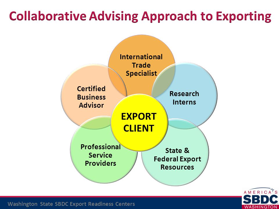 Collaborative Advising Approach to Exporting
