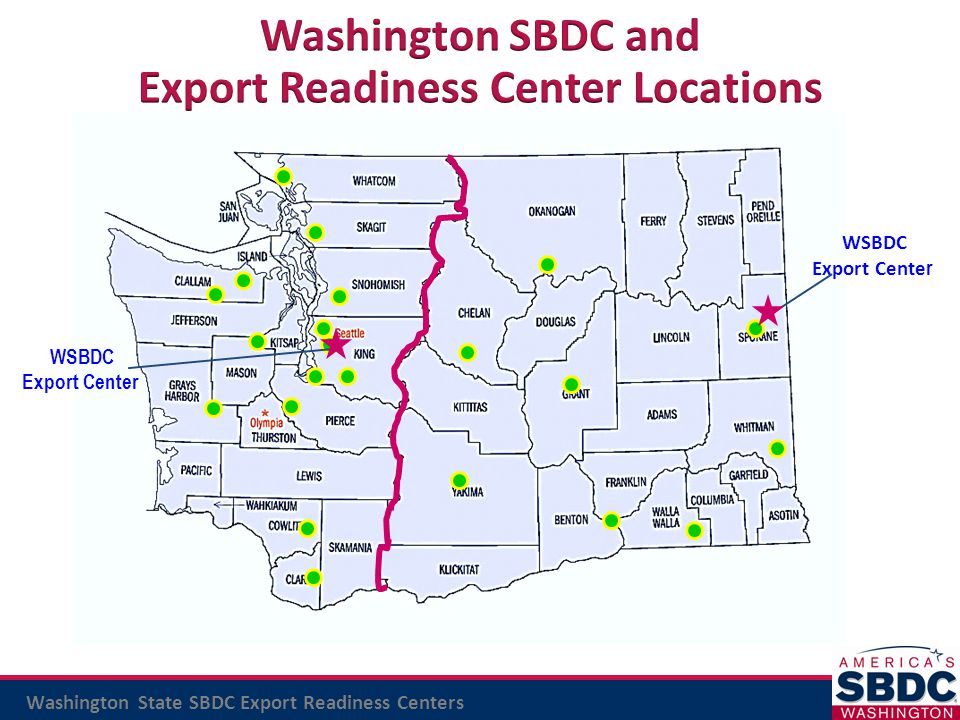 Export Readiness Center Locations