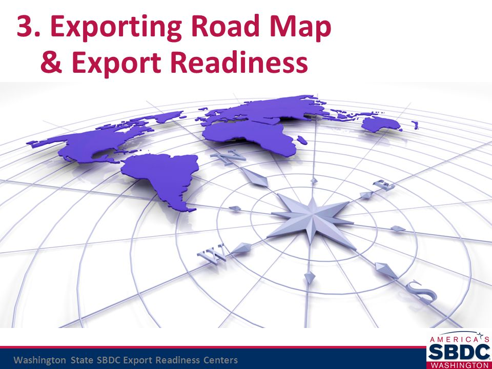 3. Exporting Road Map & Export Readiness