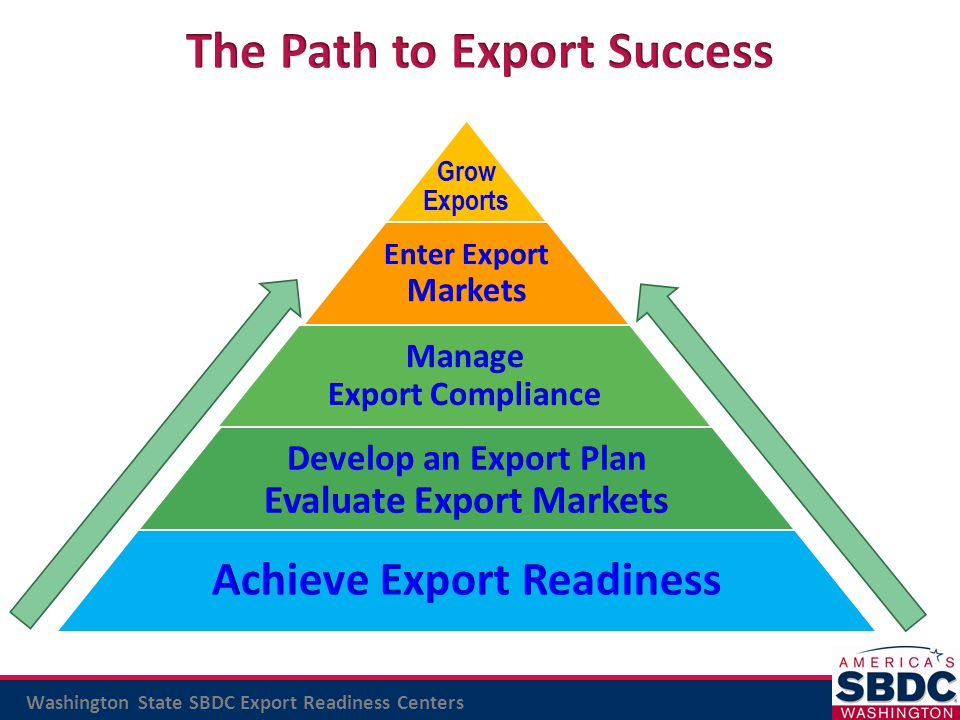 The Path to Export Success
