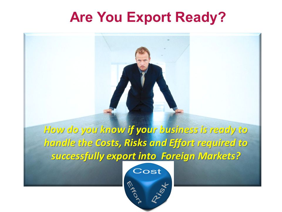 Are You Export Ready