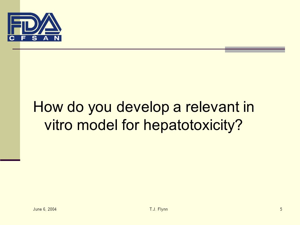 How do you develop a relevant in vitro model for hepatotoxicity