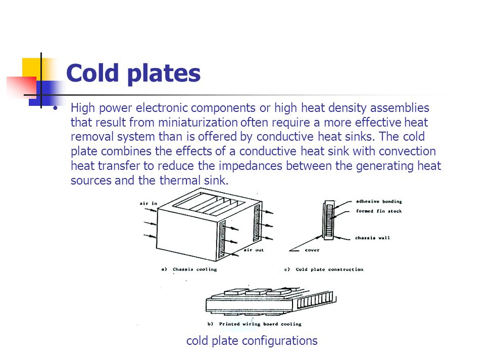Cold plates
