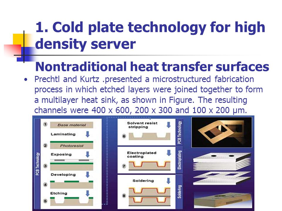Nontraditional heat transfer surfaces