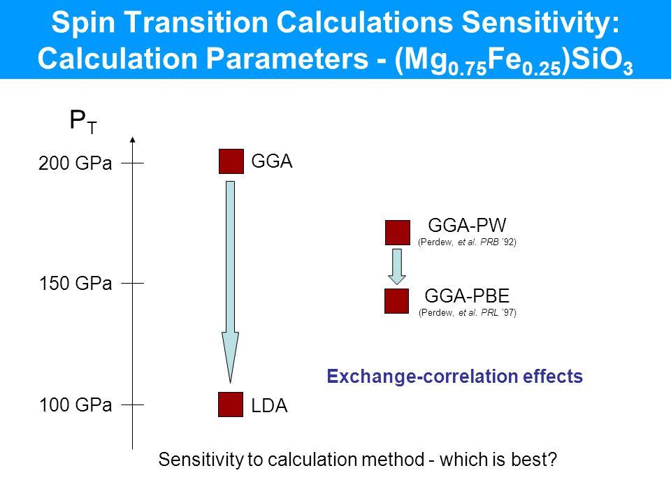 Exchange-correlation effects