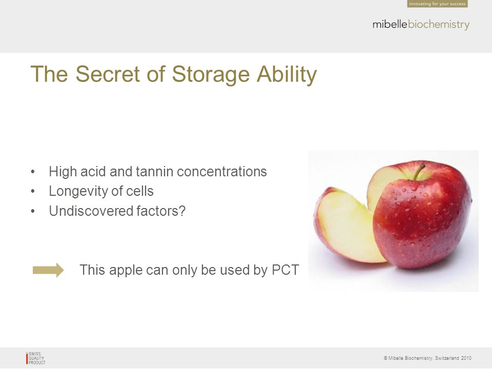 The Secret of Storage Ability