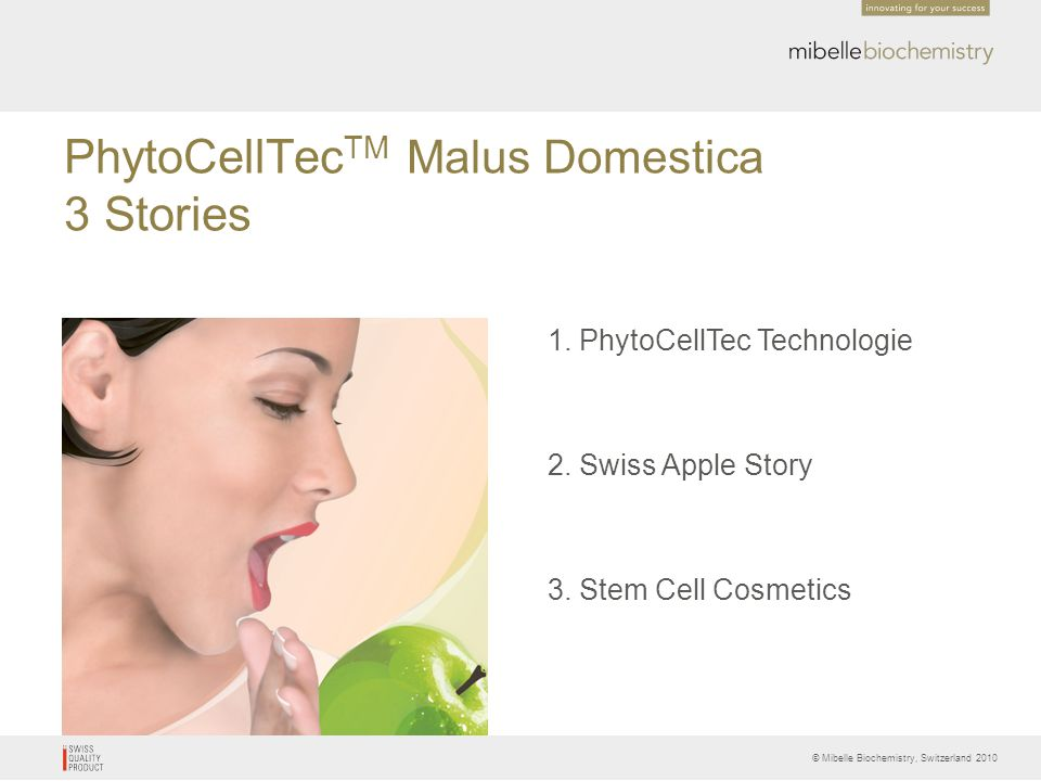 PhytoCellTecTM Malus Domestica 3 Stories