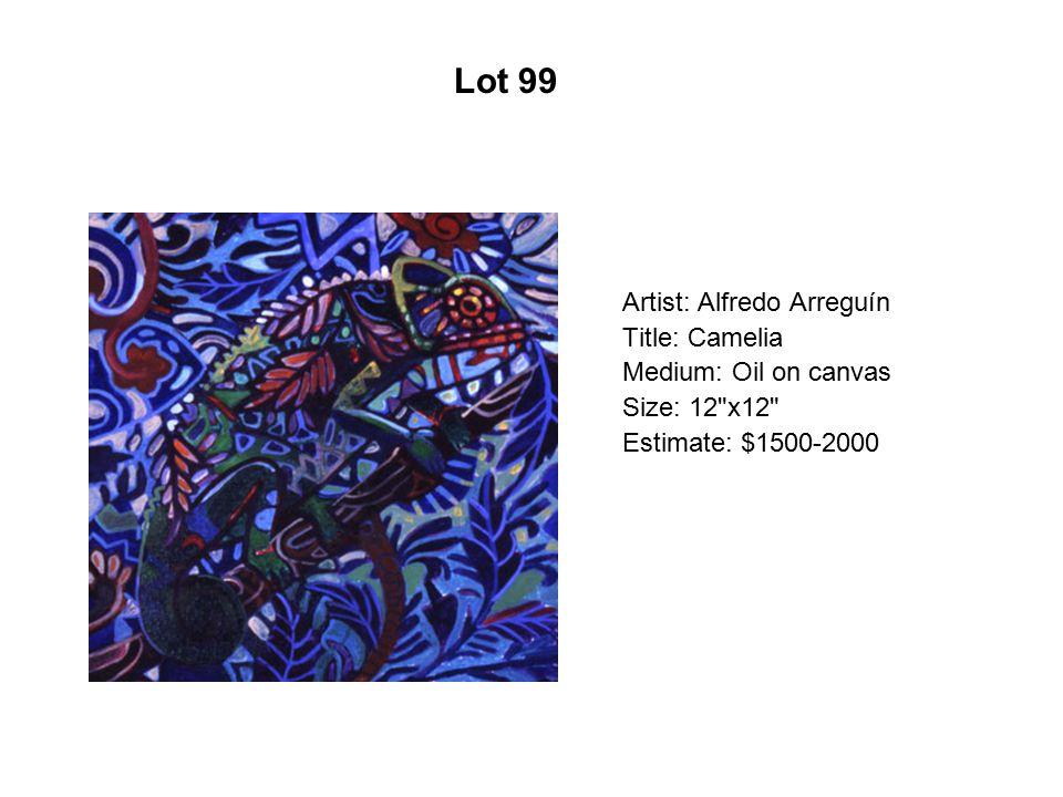 Lot 94 Artist: Domingo Nuño